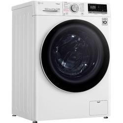 LG Waschtrockner 4 V4 WD 85S1, 8 kg / 5 kg, 1400 U/Min, Waschtrockner, 91123946-0 weiß weiß