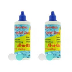 Comfort 2x 360ml All-In-One Kontaktlinsen Pflegemittel 2B