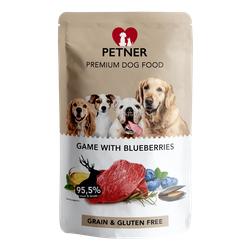 PETNER Wildbret mit Blaubeeren 500g (Rabatt für Stammkunden 3%)