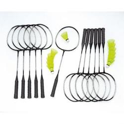 Alu-Line Badminton-Set 12 - Schul-Set Plus - mit Tasche