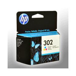 HP Tinte F6U65AE  302  3-farbig