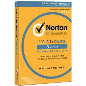 Norton Security Deluxe 3-geräte/1-jahr 2019 Pc/mac/android/internet Security Key