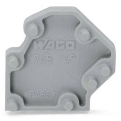 WAGO 745-3138 Rasterzwischenstück Grau 200St.