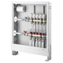 Oventrop Einbauschrank Stahl verzinkt Nr. 3, 900 x 760-885 x 115-180 mm