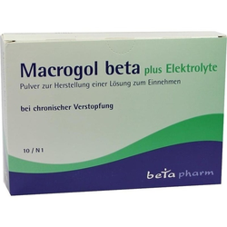 Macrogol beta plus Elektrolyte Pulver
