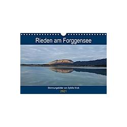 Rieden am Forggensee (Wandkalender 2021 DIN A4 quer)