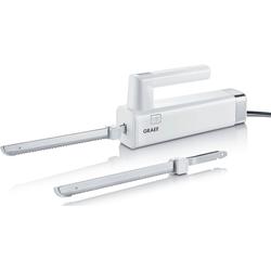 Graef Elektromesser EK 501, 150 W, mit 2 Messern, weiß