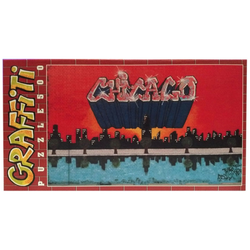 """Clementoni® Steckpuzzle Clementoni Graffiti Puzzle 500 Teile """"Chicago"""", 500 Puzzleteile bunt"""