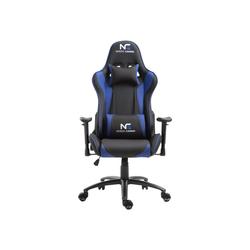 ebuy24 Gaming-Stuhl Nordic Gaming Racer Gamin Stuhl schwarz und blau.