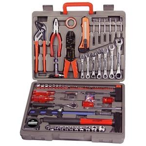 Brueder Mannesmann Werkzeuge Werkzeugkoffer (555-tlg.) silberfarben