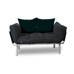 Easysitz 2-Sitzer Schlafsofa, Schlafsofa grau