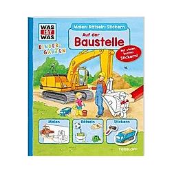 Auf der Baustelle. Monika Ehrenreich  Elisabeth Kiefmann  - Buch