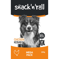 SNACK & ROLL Chicken Kebab  Huhn am Stiel nach Kebab 200 g