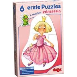 6 erste Puzzles - Prinzessin