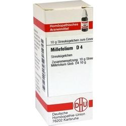 MILLEFOLIUM D 4 Globuli 10 g