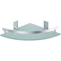 Duschablage »TABARCA«, Eckablage, Tiefe 25 cm, 511771-0 grau grau