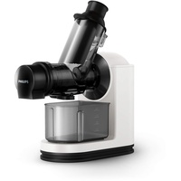 Philips Viva Collection Entsafter, Technologie Gentle Squeezing, weiß.