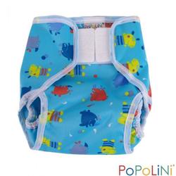 Popolini Überhose PopoWrap Hippo Windelüberhose S