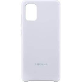 Samsung Silicone Cover EF-PA715 für Galaxy A71 silber