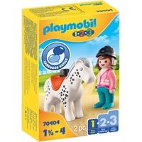 Playmobil 1.2.3 Reiterin mit Pferd 70404