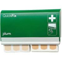 Plum QuickFix Pflasterspender Elastic & Water Resistant 23.3 cm x 13.3 cm x 3.3 cm 90 St. inkl. Wandhalterung