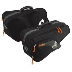 Ixon X-Comp Zadel tassen, zwart, 31-40l