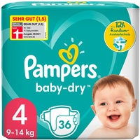 Pampers Baby-Dry 9-14 kg 36 St.