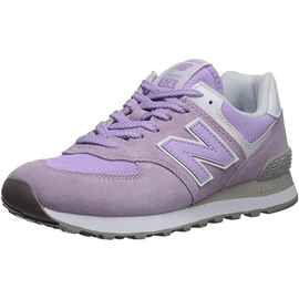 NEW BALANCE WL574 light purple-light grey/ white, 37.5
