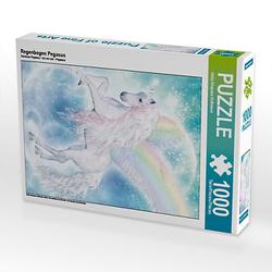 Regenbogen Pegasus Lege-Größe 48 x 64 cm Foto-Puzzle Bild von Dolphins DreamDesign Puzzle