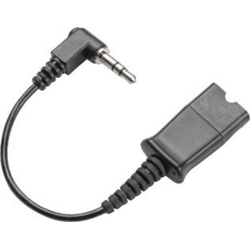 Plantronics Adapter QD 3,5mm mit PTT an Alcatel Headset-Adapter