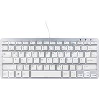 R-Go Compact Tastatur DE weiß (RGOECQZW)