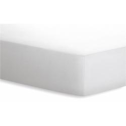 Schlafgut Spannbetttuch Jersey in weiß, 90 x 190 cm