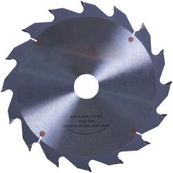 CONNEX Kreissägeblatt Handkreissägeblatt, HM, grob, Ø 210 mm grau