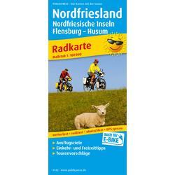Nordfriesland und Nordfriesische Inseln 1:100 000