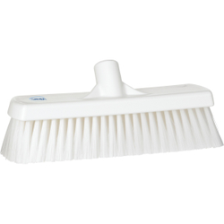 Vikan Besen, 300 mm medium, speziell zum Kehren in feuchten Bereichen, Farbe: weiß
