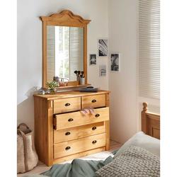 Landhausmöbel aus Kiefer Massivholz Schlafzimmer (2-teilig)
