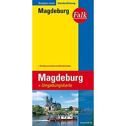 Falk Plan Magdeburg - Buch