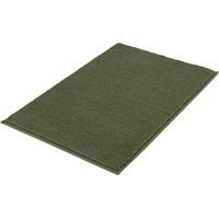 Kleine Wolke Badteppich Kansas Olivgrün 55x 65 cm