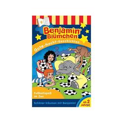 Benjamin Blümchen - Blümchen: Gute-Nacht-Geschichten/Fussballspass im Zoo (MC (analog))