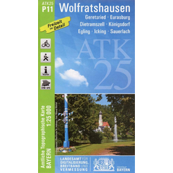 Wolfratshausen 1 : 25.000