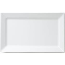 Q Squared NYC Servierplatte Melamin Servierplatte, Melamin, (1-tlg., 1 x Servierplatte) 27 cm x 44 cm x 3,9 cm