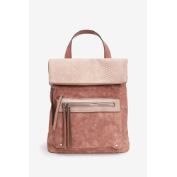 Next Rucksack Utility Rucksack aus Materialmischung rosa
