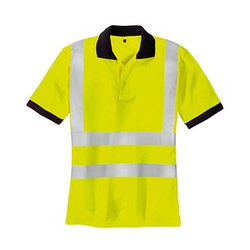 teXXor® unisex Warnschutz Shirt SYLT gelb Große 2XL