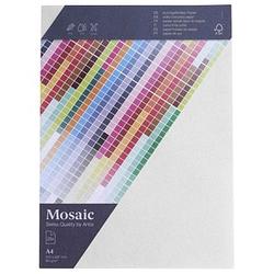 artoz Briefpapier Mosaic weiß DIN A4 90 g/qm 25 Blatt