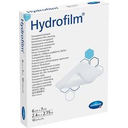 HYDROFILM Transparentverband 6x7 cm 10 St.