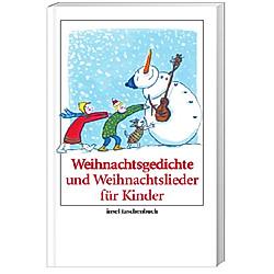 Weihnachtsgedichte und Weihnachtslieder für Kinder - Buch