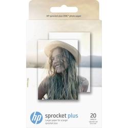 HP ZINK® PLUS PHOTO PAPER 2LY72A Fotodrucker Fotopapier 20 Blatt