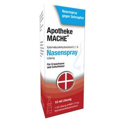 XYLOMETAZOLIN NASENSPRAY 0,1%/Mache 10 ml