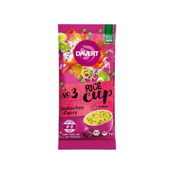 Davert Bio-Rice-Cup Indisches Curry, 69 g