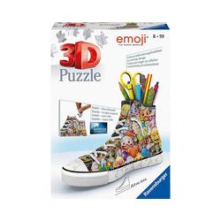 Ravensburger 3D-Puzzle 3D-Puzzle Emoji Sneaker, 108 Teile, Puzzleteile